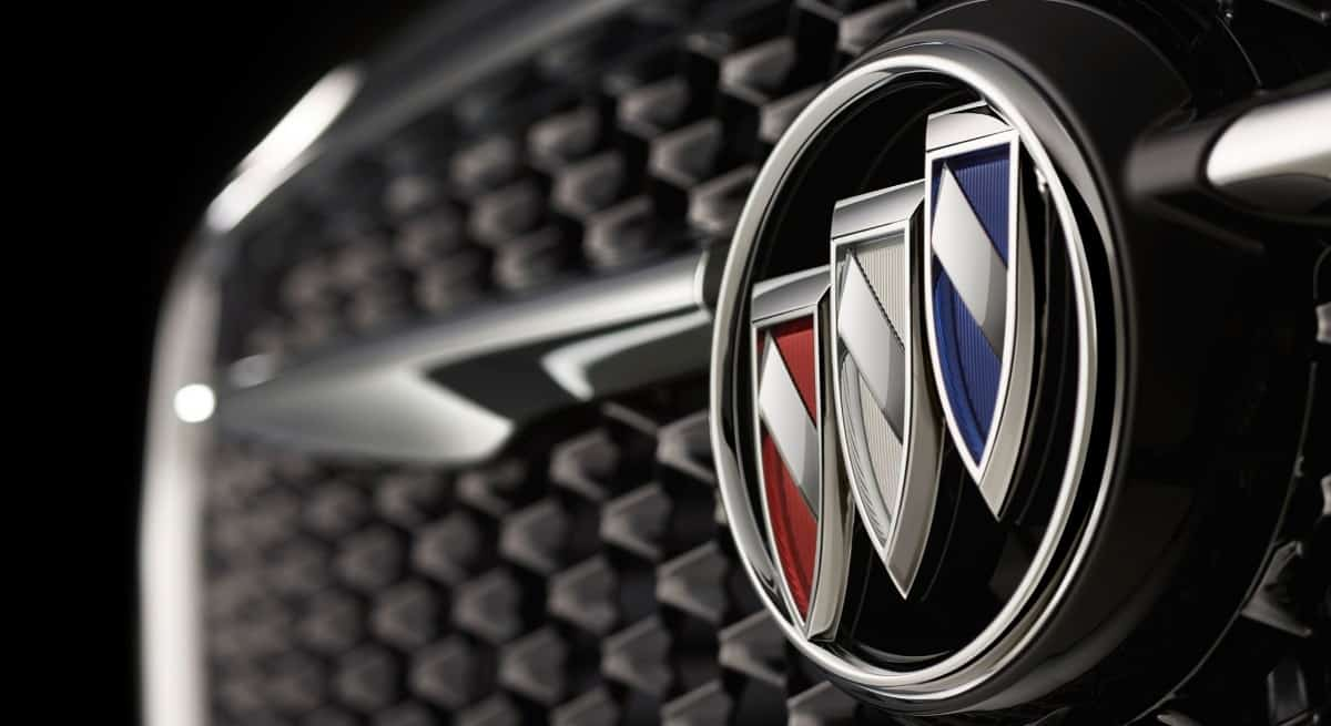 Buick logo - Buick emblem on grille