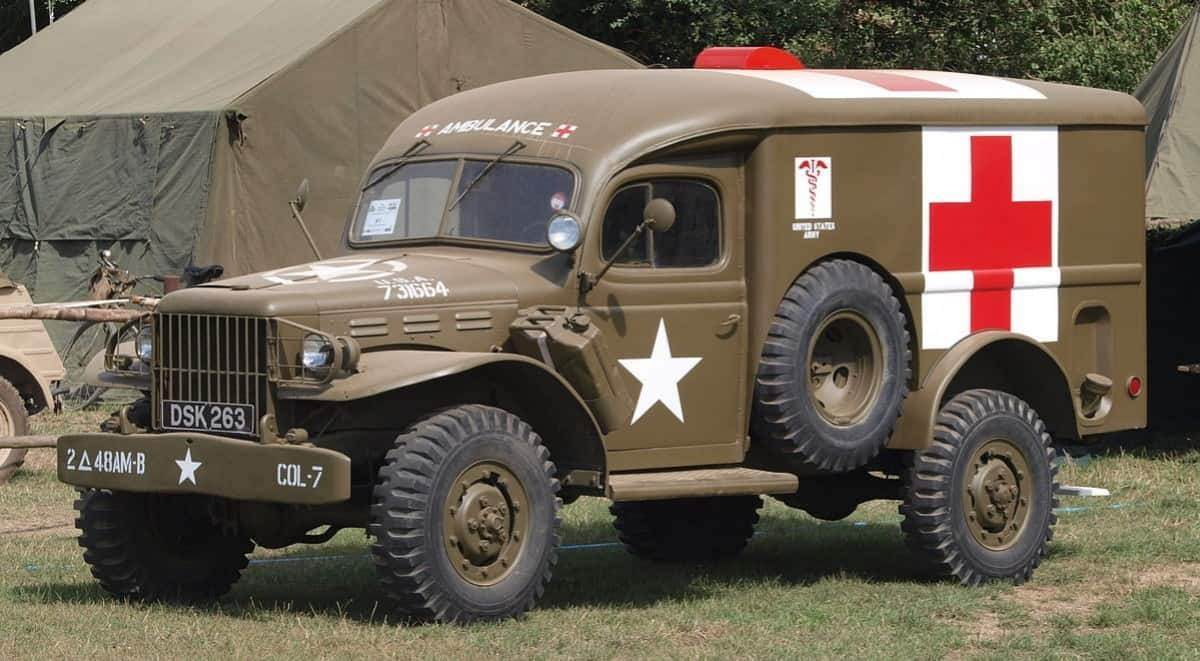Dodge WC54 US Army Ambulance