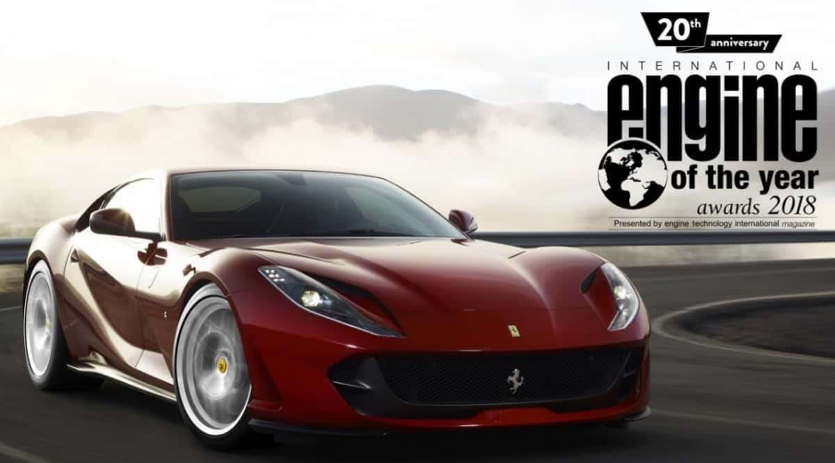 Ferrari Engine of the year - turbocharged v-8