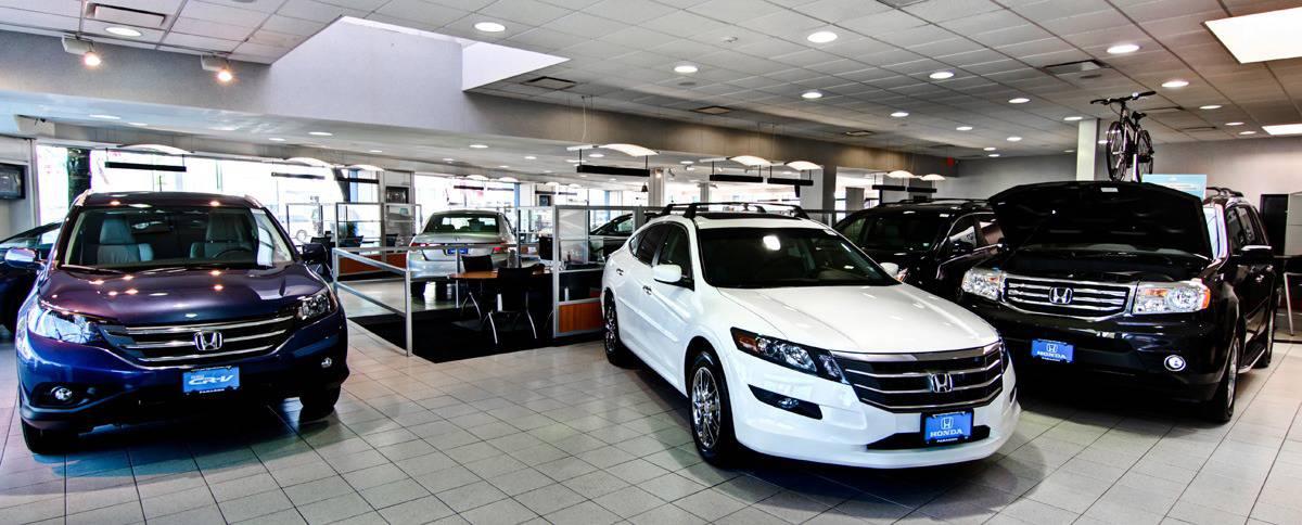 Honda dealerships - inside view
