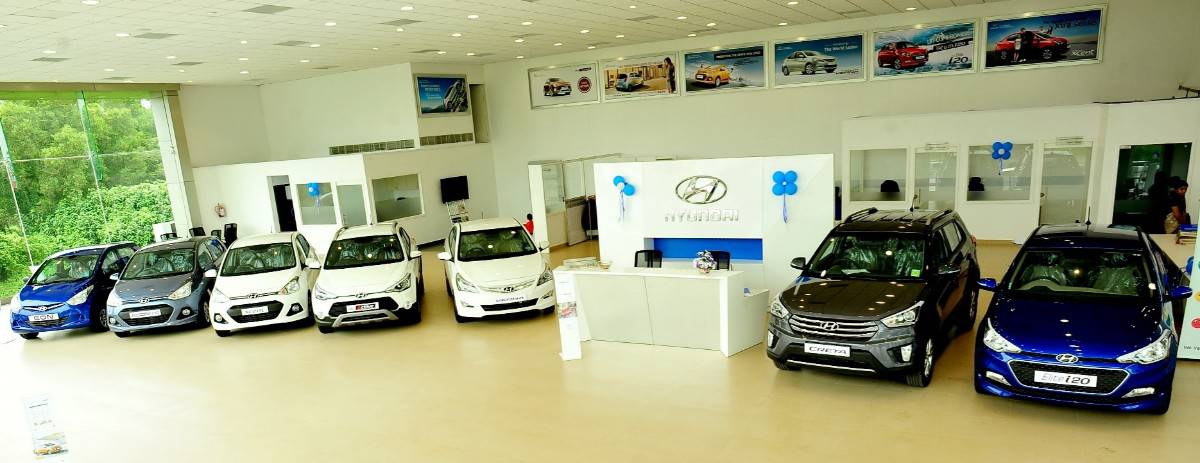Hyundai Dealerships - inside view