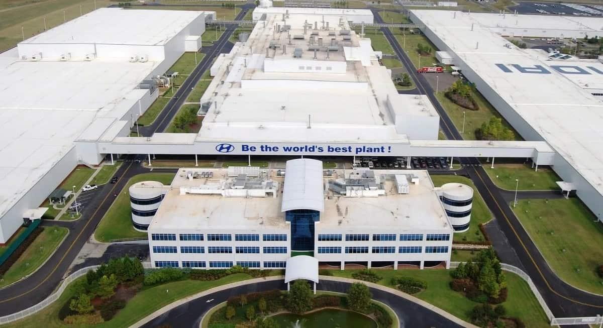 Hyundai manufacturing plant Montgomery AL