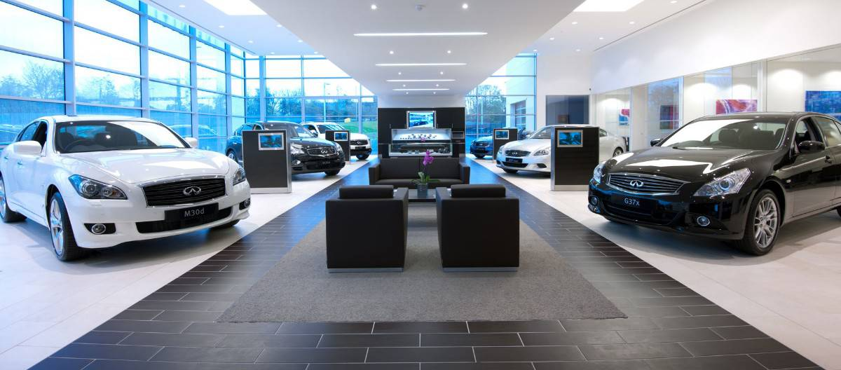 Infiniti Dealerships - inside view