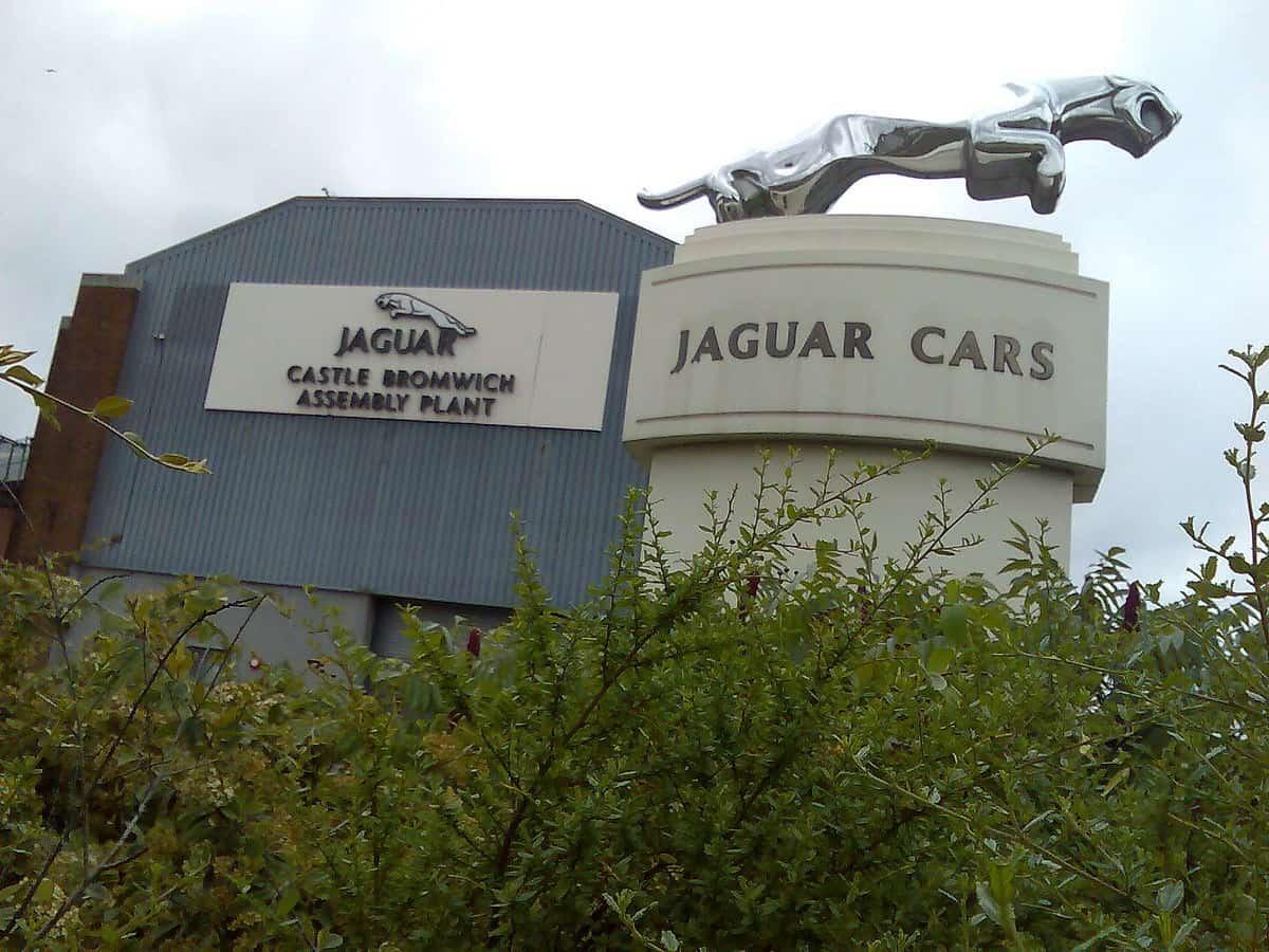 Jaguar Castle Bromwich Assembly plant Birmingham