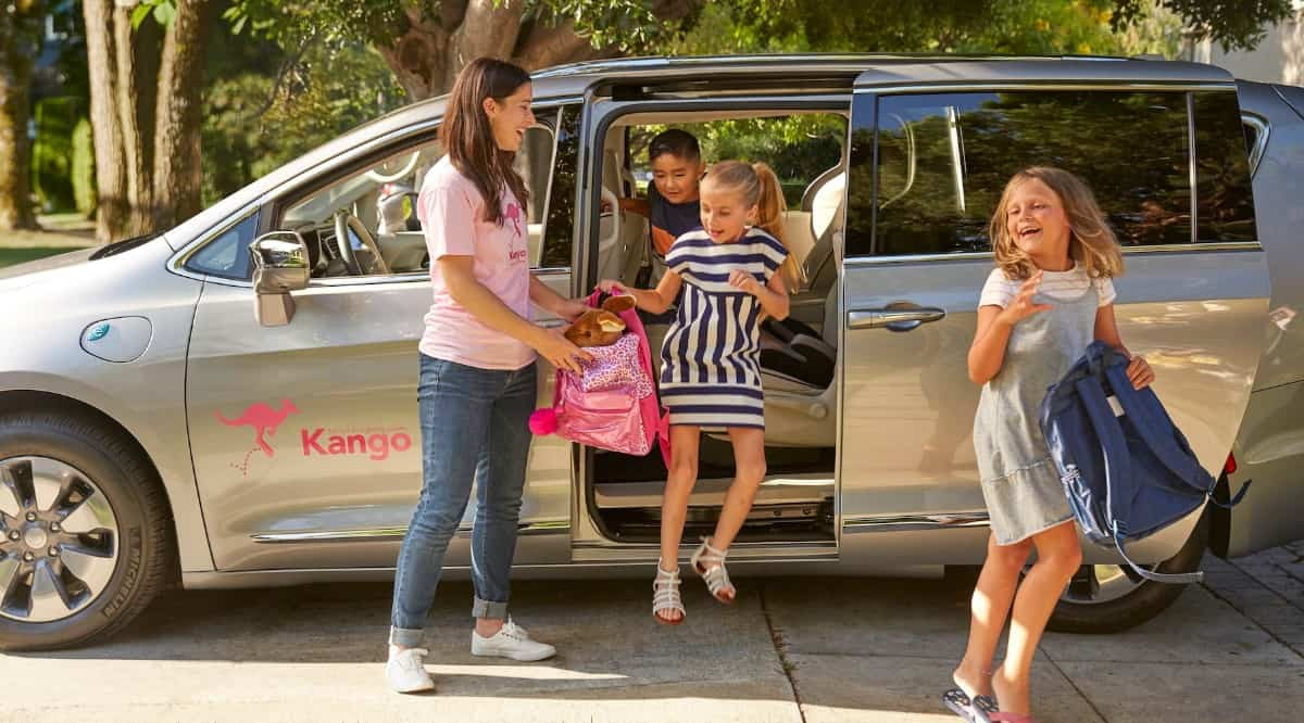 Kango Ridesharing for Kids