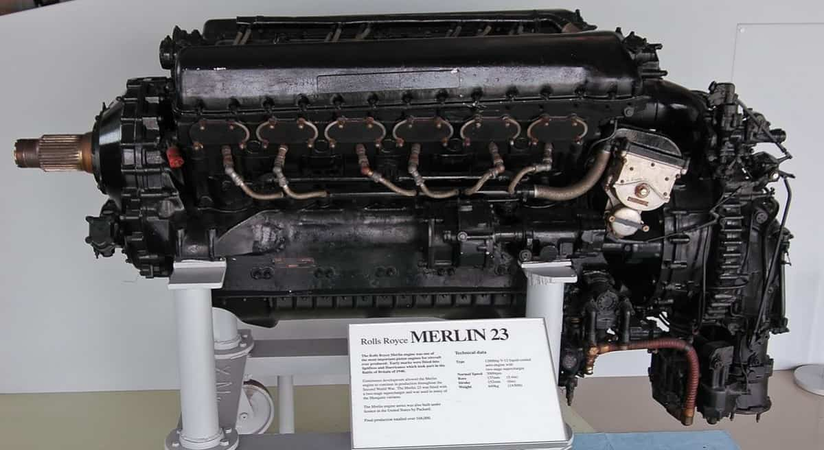 Rools-Royce Merlin 23 aero-engine