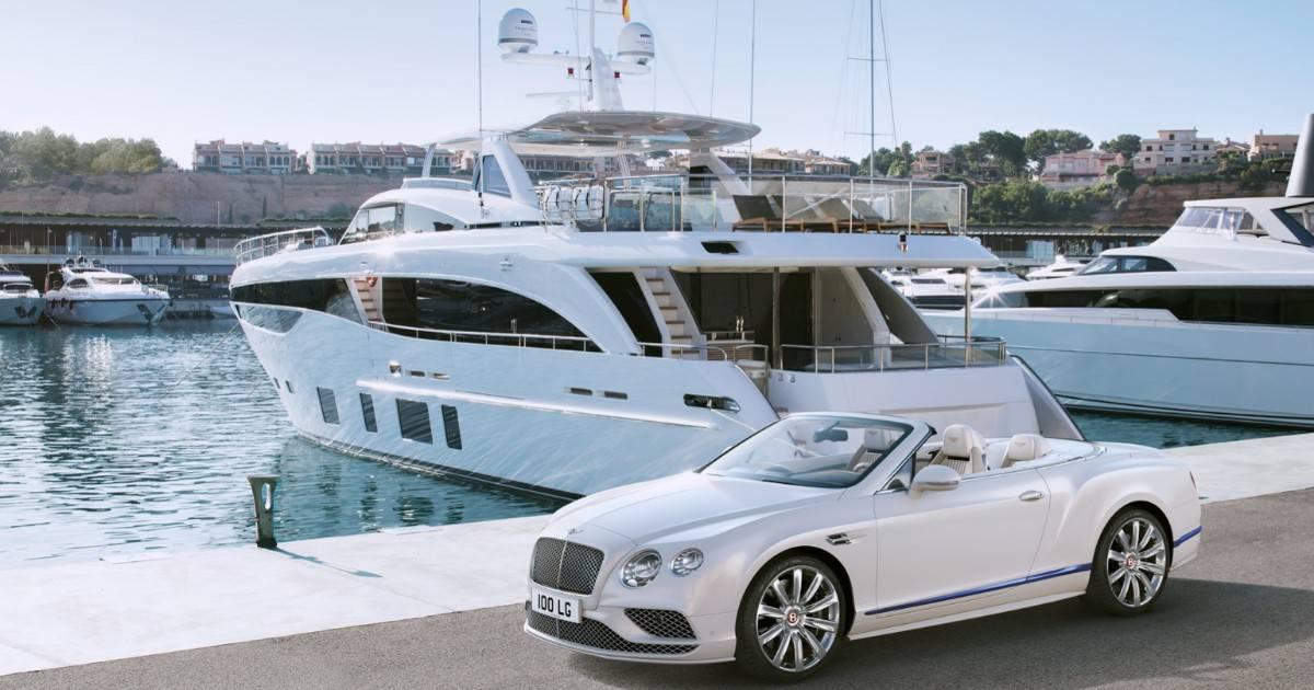 Princess Yachts and Bentley Motors