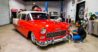freshly waxed classic car