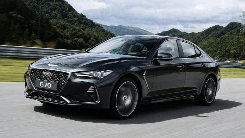2019 Genesis G70 sedan offers a preview of what the 2020 Genesis G70 coupe will look like
