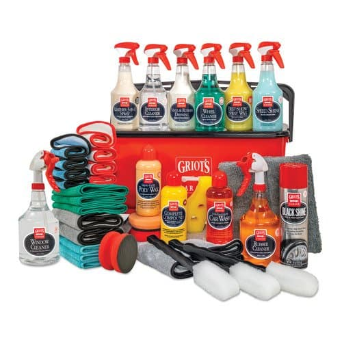 Griot's Garage Master Car Care Collection with Bucket