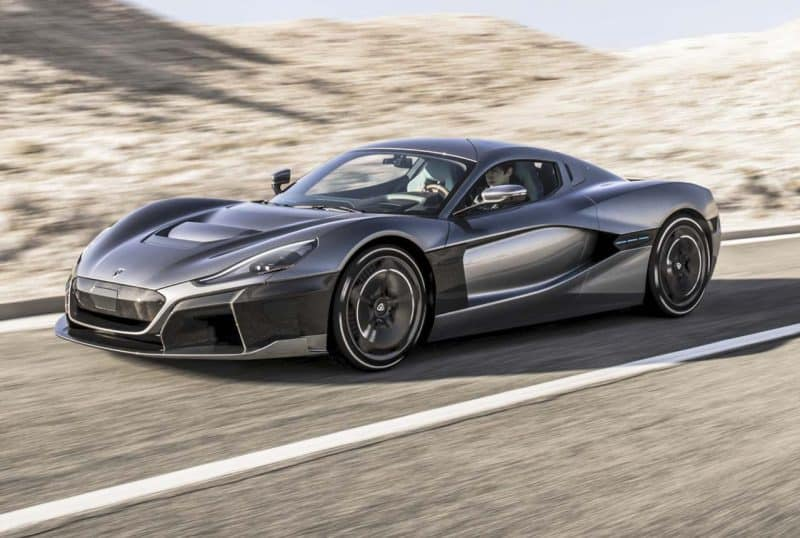 Rimac C_Two is by far one of the most exciting 2020 hybrid cars