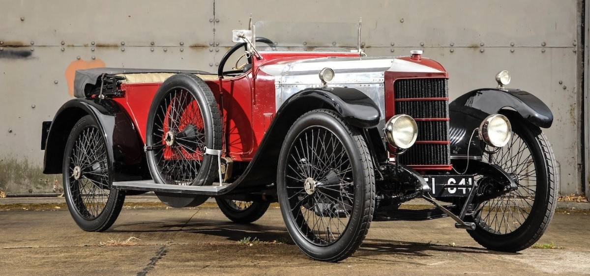1910 Prince Henry Vauxhall - first sports car
