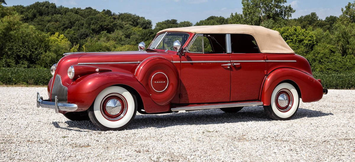 1939 Buick Series 60 - left side view