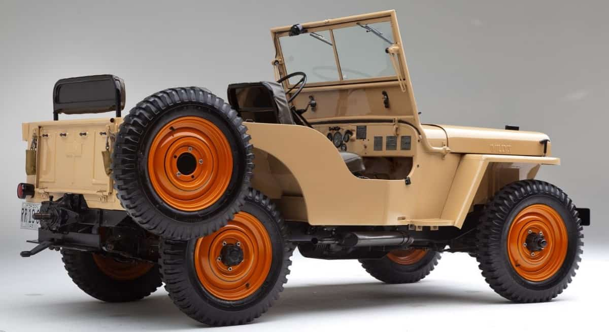 1945 Willys Jeep - right side view