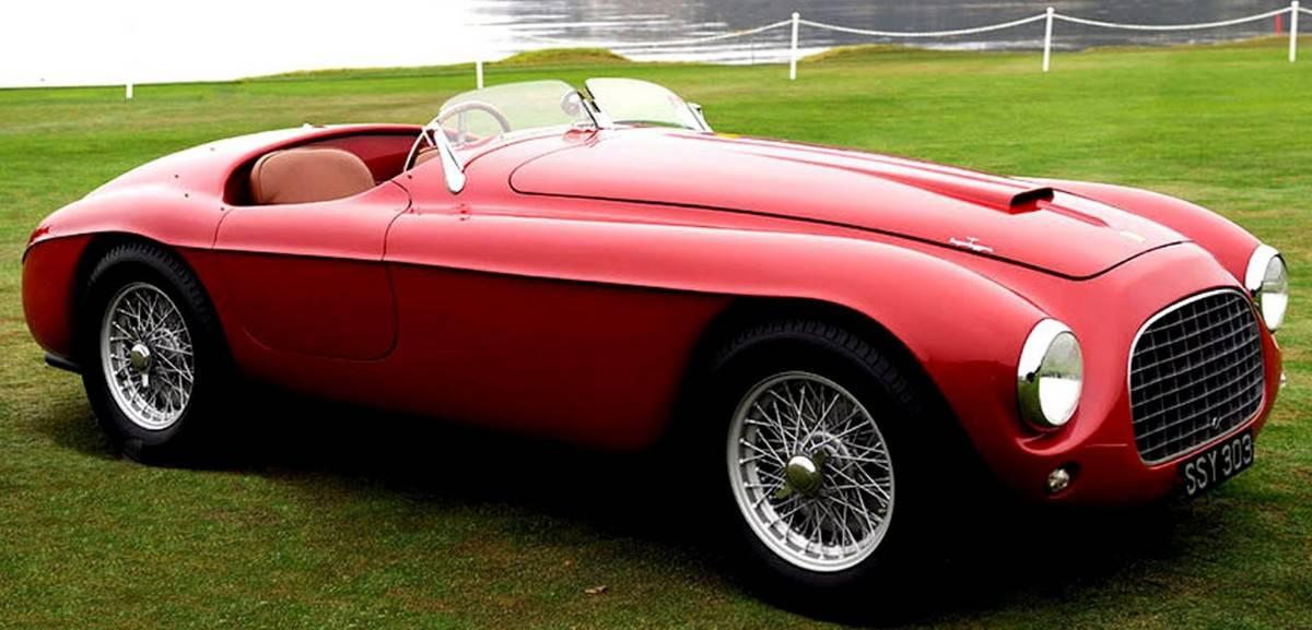 1948 Ferrari 166s - right front view
