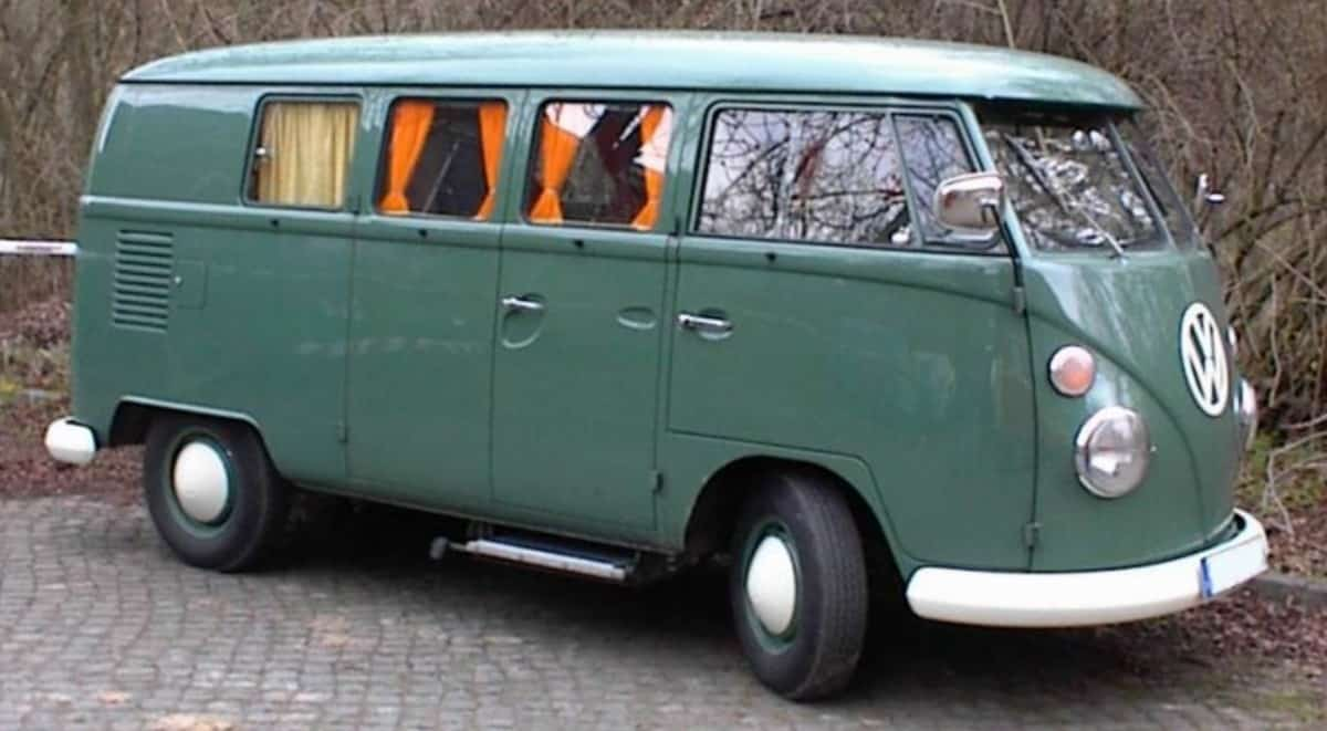 1950 Volkswagen Type2 - right side view
