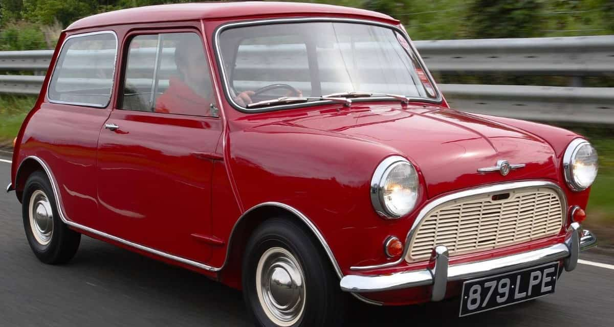 1959 Austin Mini - right front view