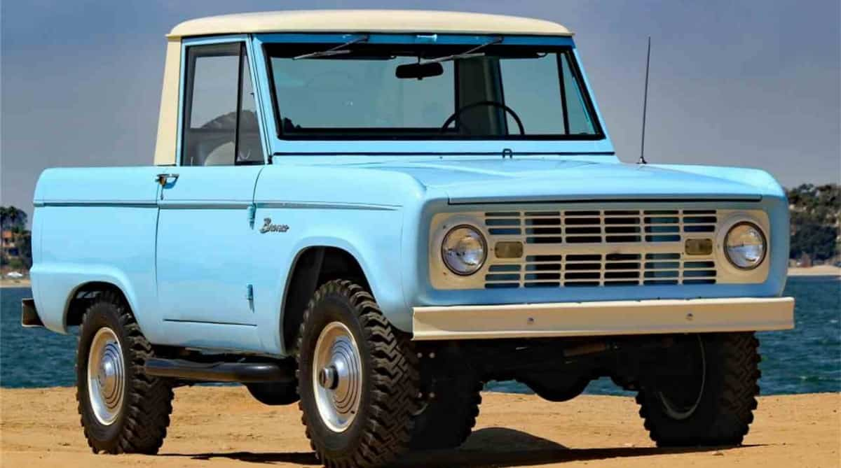 1966 Ford Bronco - first SUV