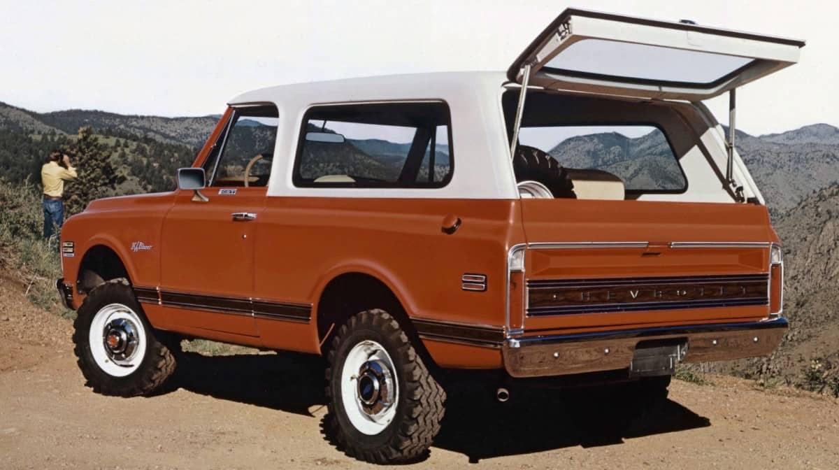 1969 Chevrolet K5 Blazer - left rear view