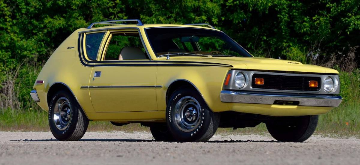 1972 AMC Gremlin - right front view