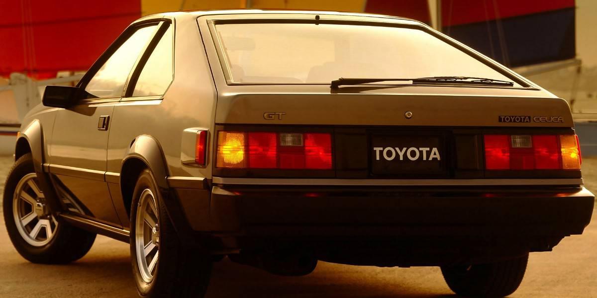 1982 Toyota Celica Liftback - rear view