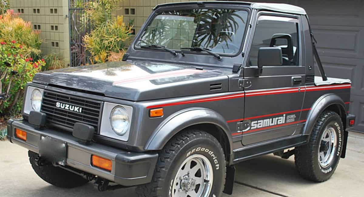 1987 Suzuki Samurai - Mini Crossovers