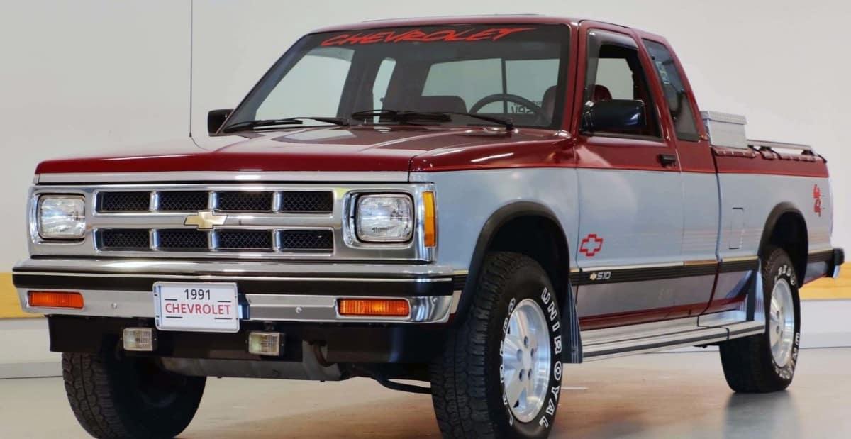 1991 Chevrolet S10 Pickup - popular truck designs