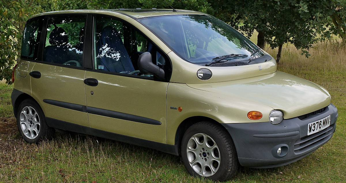 1998 Fiat Multipla - first MPV