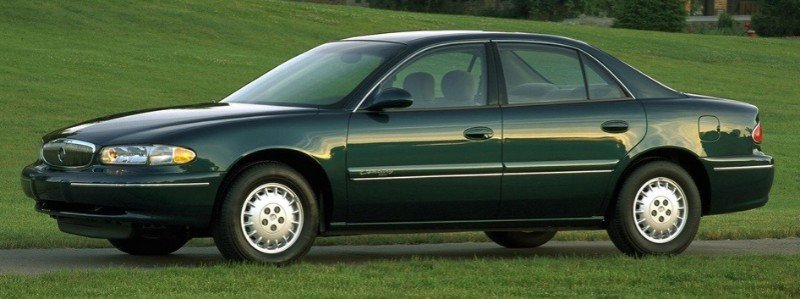 2000 Buick Century - left side view