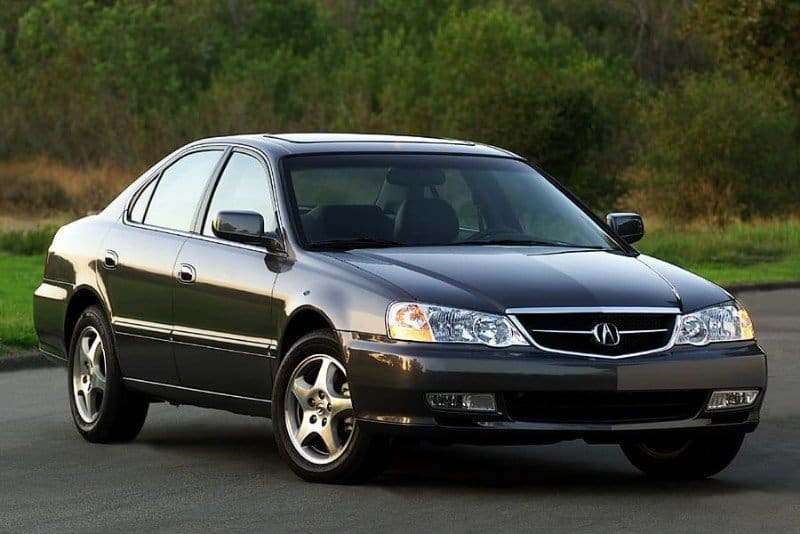 2003 Acura TL - right front view