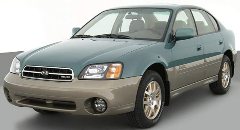 2003 Subaru Outback - left front view