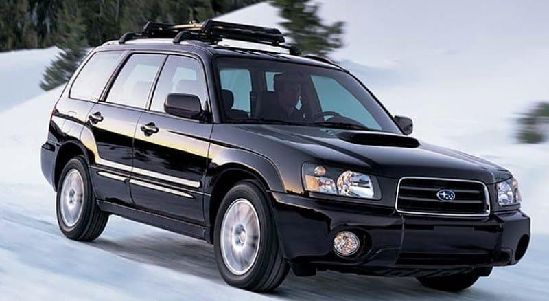 2004 Subaru Forester - right front view