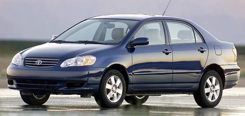 2004 Toyota Corolla - left side view