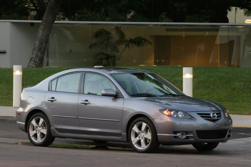 2006 Mazda3 - right front view