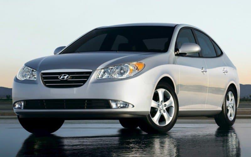 2009 Hyundai Elantra - left front view