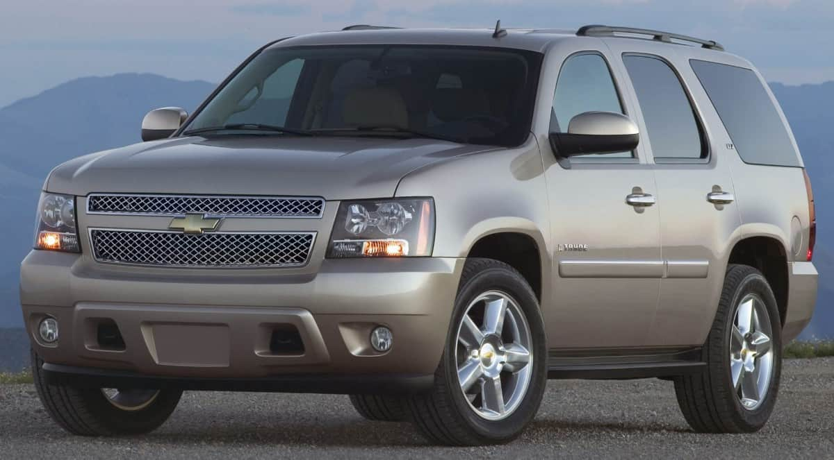 2013 Chevrolet Tahoe - drivers side front
