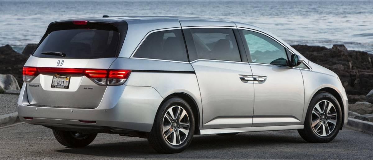 2014 Honda Odyssey - best selling minivan