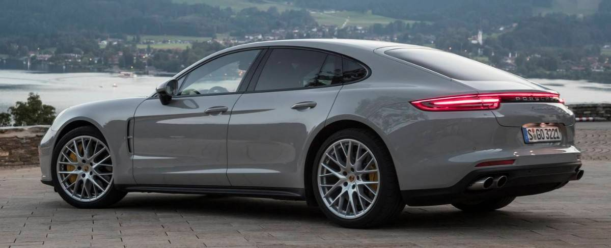 2017 Porsche Panamera - drivers side view