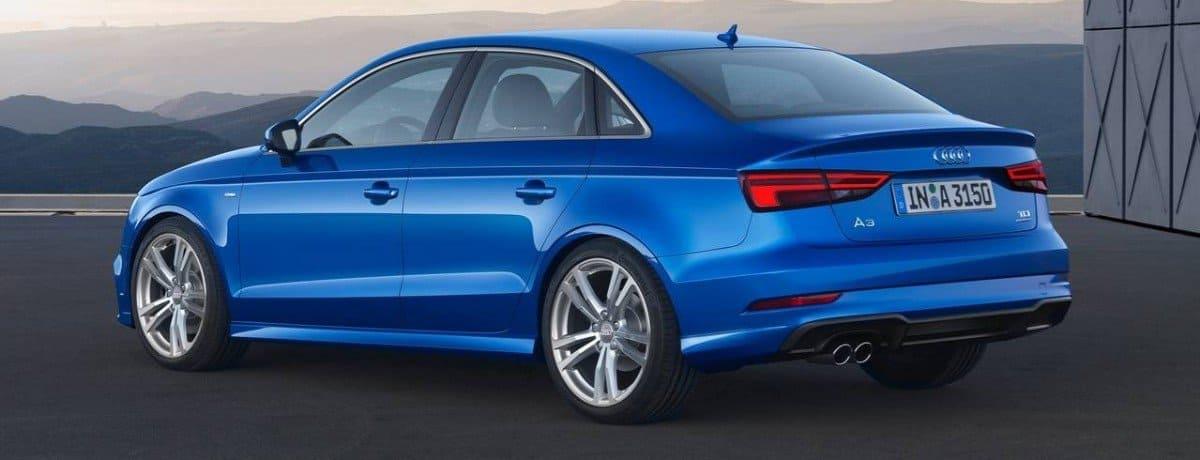 2018 Audi A3 - left rear view