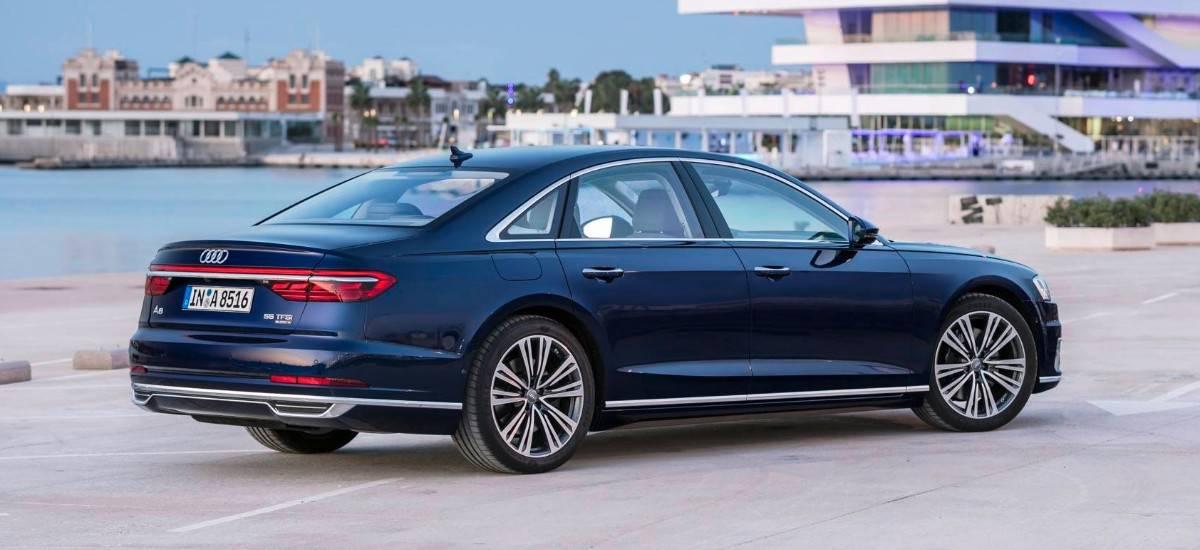 2018 Audi A8 - All-Wheel-Drive sedan