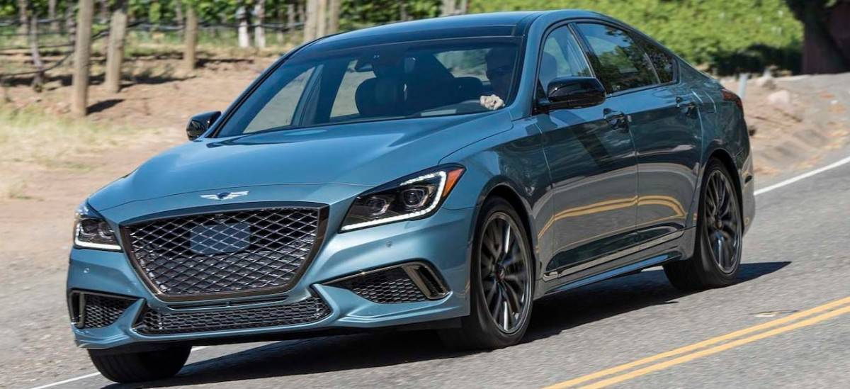 2018 Genesis G80 - front view