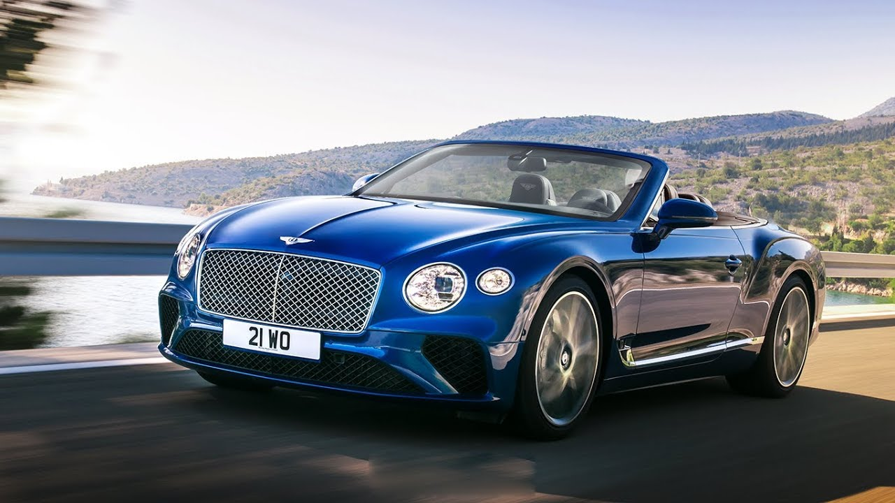 Bentley Continental GT - front view