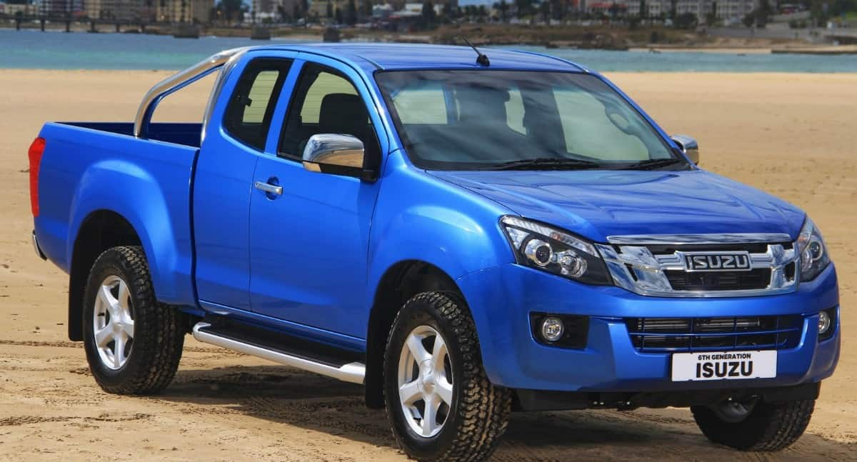 Isuzu KB - South Africa pickup