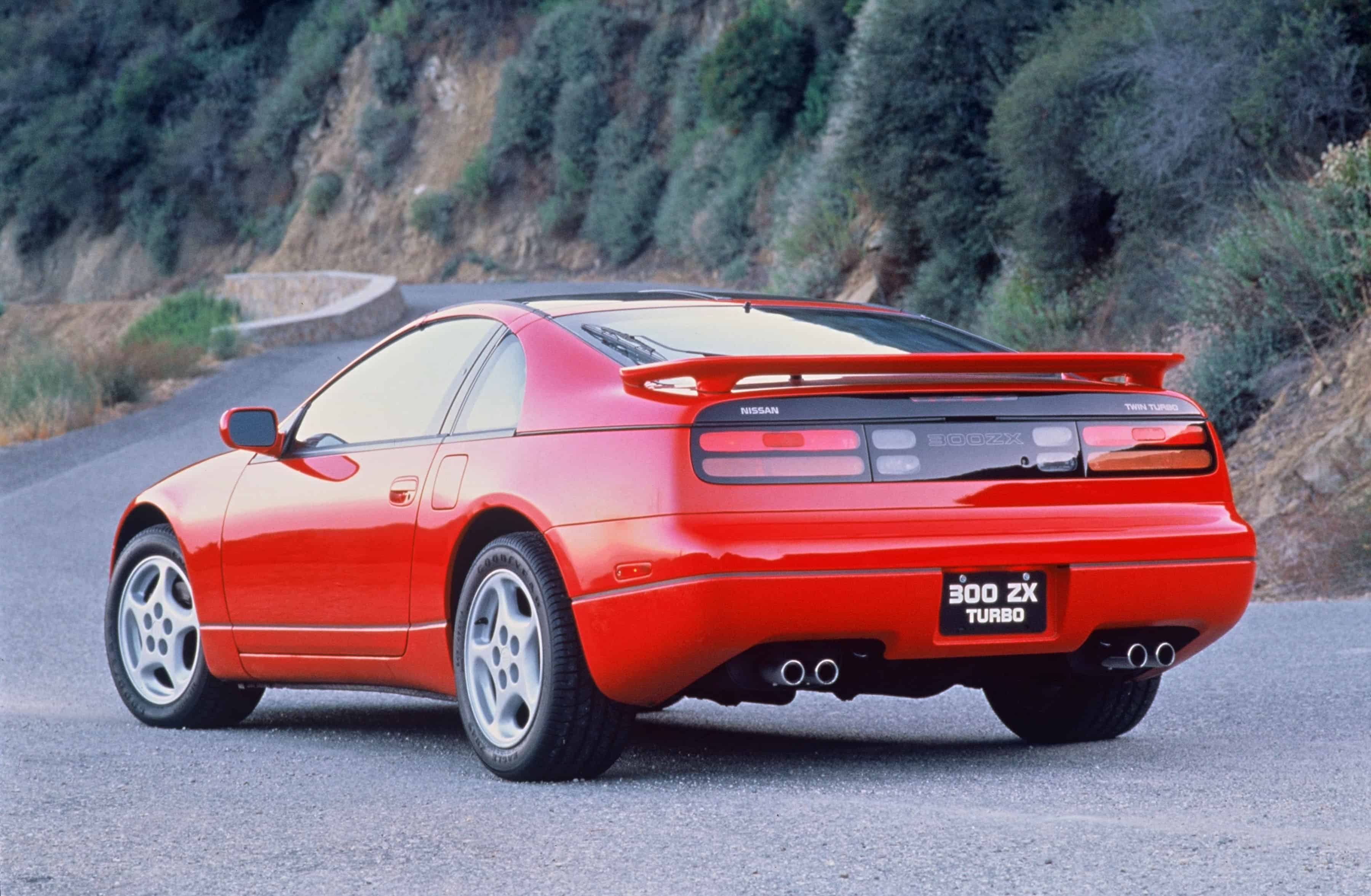 Nissan 300ZX - left rear view