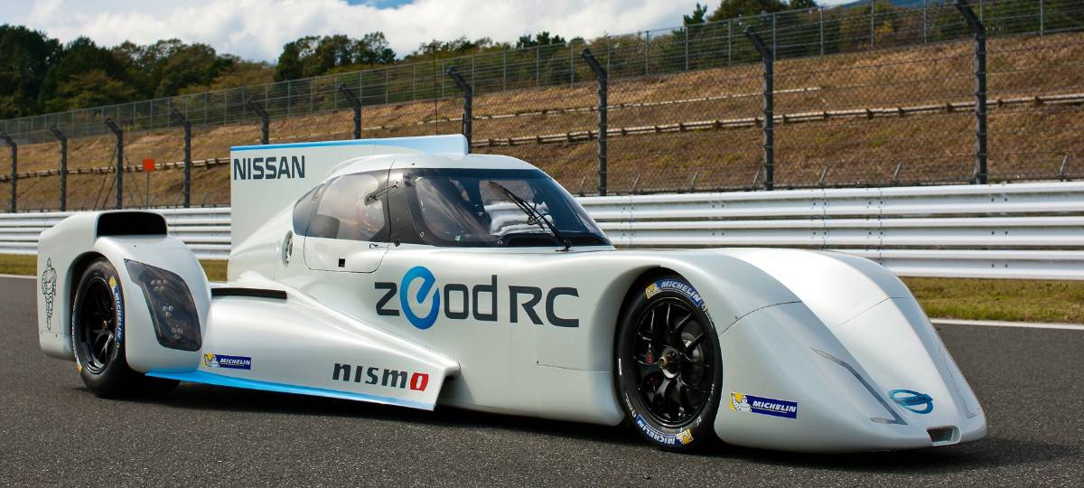 Nissan ZEOD RC - right side view
