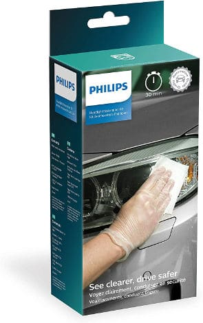 Philips headlight restoration kit