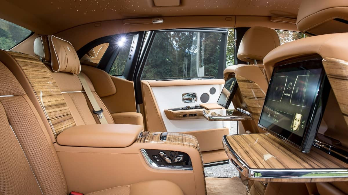 Rolls-Royce Phantom - interior view