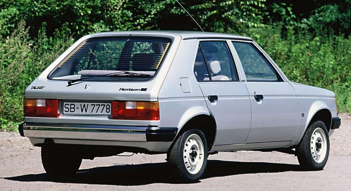 Talbot Horizon - right rear view