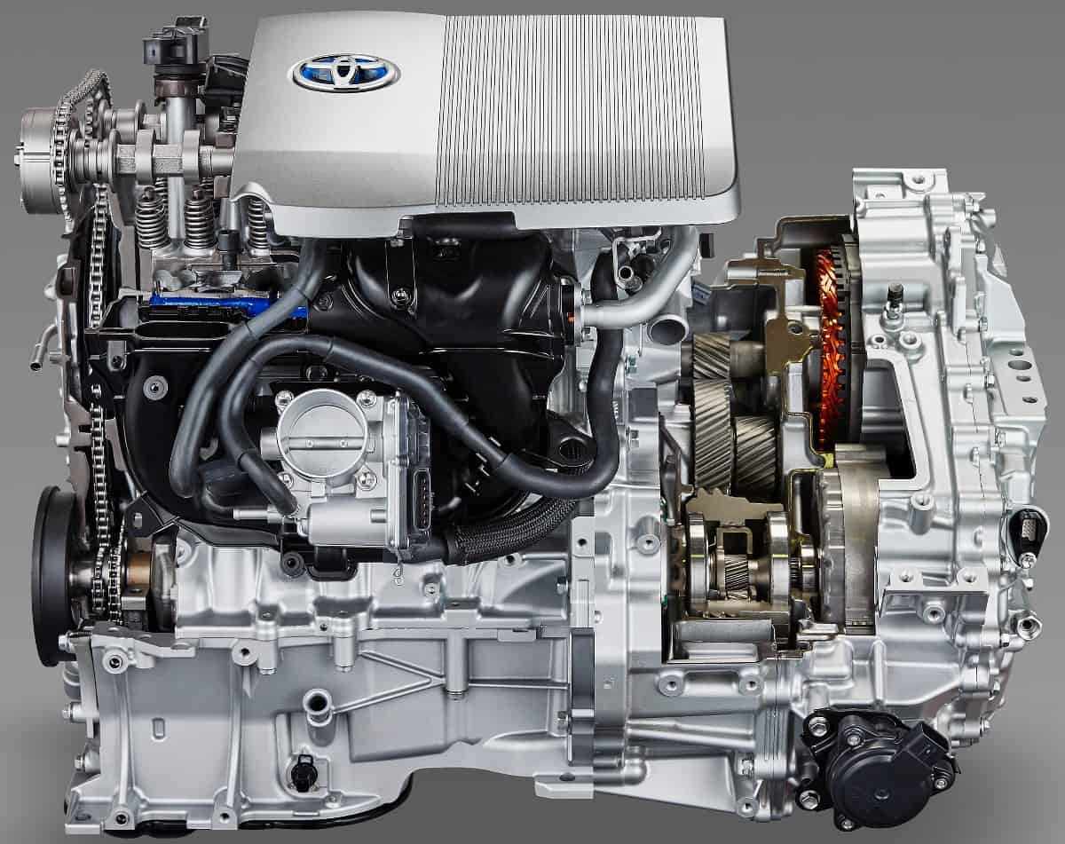 Toyota Prius engine - Parallel Hybrids