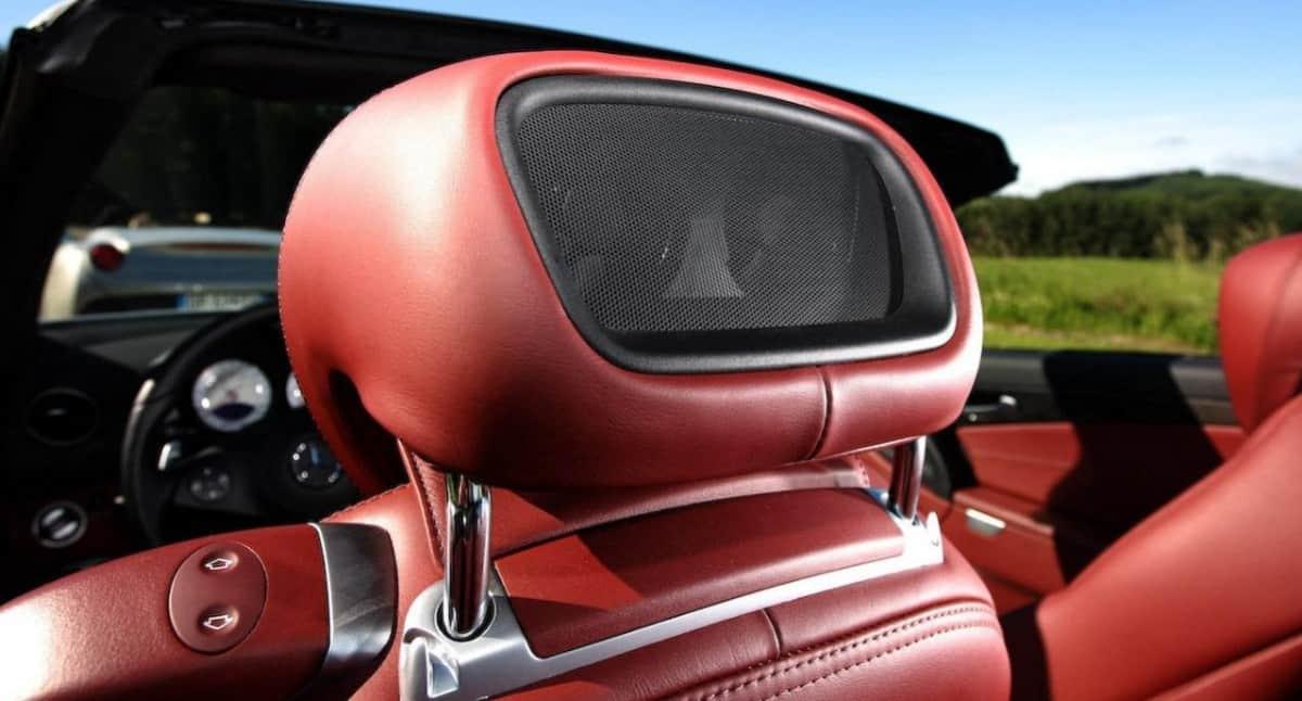 airscarf Mercedes-Benz - neck heater